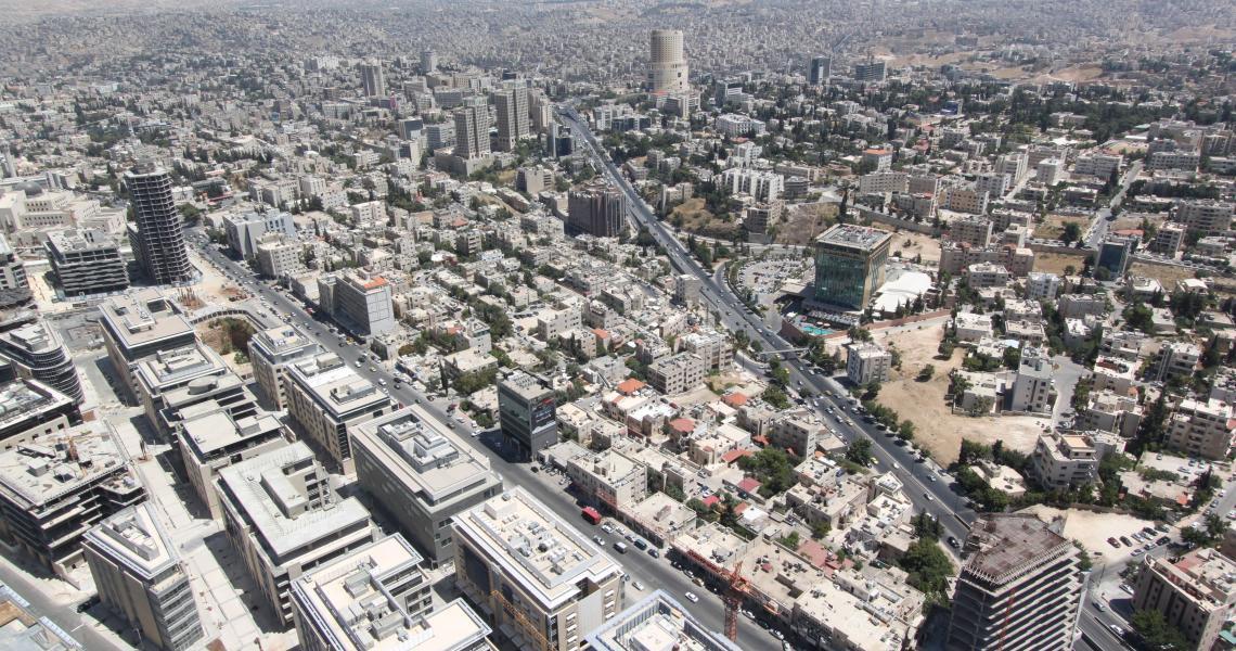 Abdali Boulevard Project Pedestrian Spine Phase II